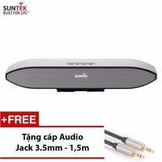 Giá Khuyến Mại Loa thanh SUNTEK 208S(Bạc) +Tặng kèm Cáp Audio Jack 3.5mm 2 đầu cao cấp