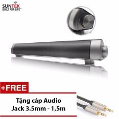 Đánh Giá Loa thanh SUNTEK JHW – V361(Xám) + Tặng kèm Cáp Audio Jack 3.5mm 2 đầu cao cấp trị giá 109000đ