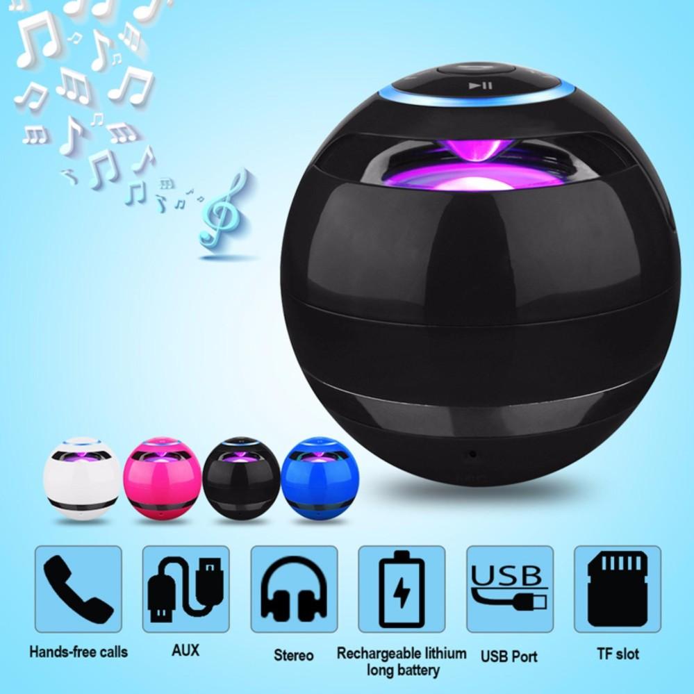 Loa Trứng Bluetooth 360 – Model GS009 (đen)
