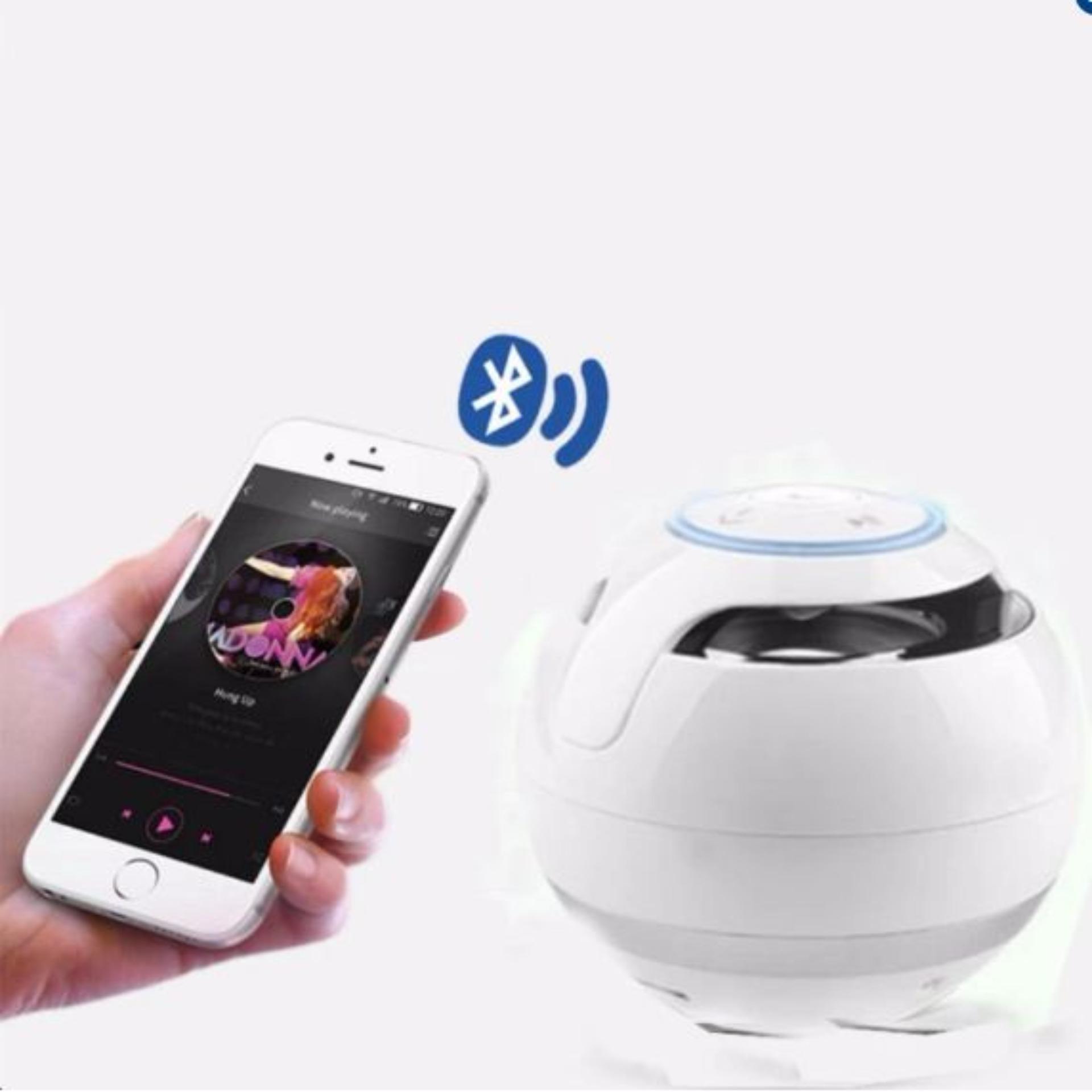 Loa Trứng Bluetooth 360 - Model GS009 (Trắng) Nghe nhạc cực đỉnh