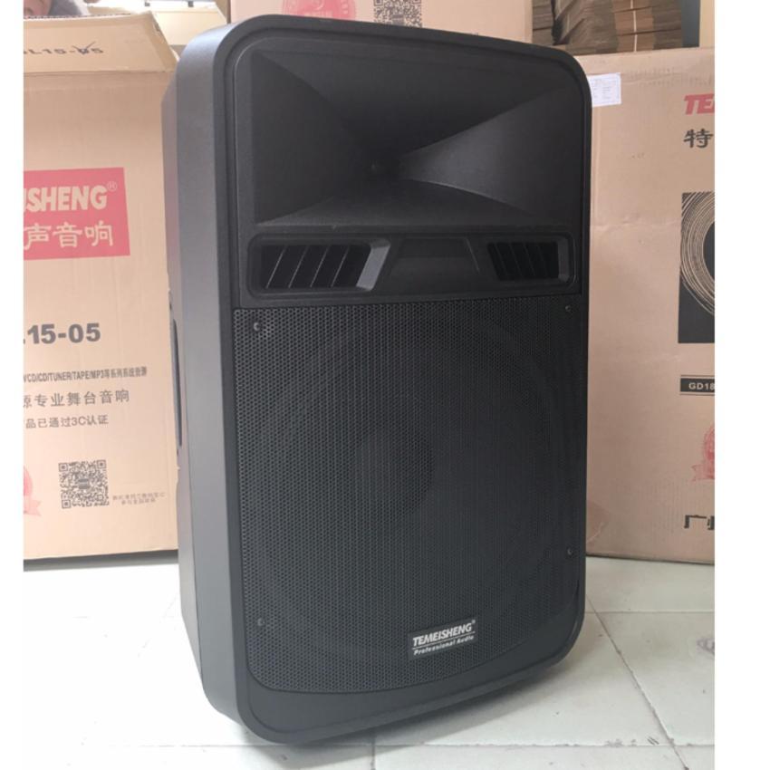 Loa vali kéo di động Bluetooth Karaoke TEMEISHENG SL15-05 + KÈM 02 Micro không dây kim loại