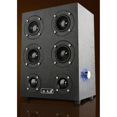 Loa vi tính 6 bass âm thanh cực đỉnh CHODEAL24H (đen giả da)