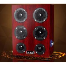Loa vi tính 6 bass âm thanh cực đỉnh CHODEAL24H màu gỗ