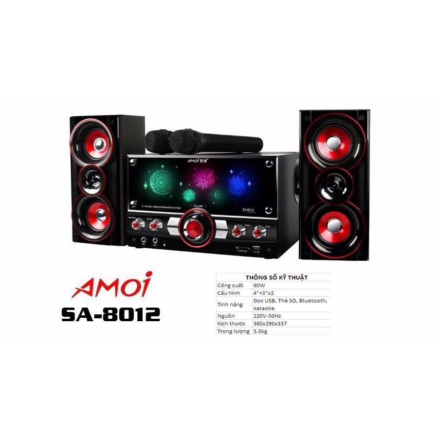 Loa vi tính 2.1 bluetooth AMOI SA-8012