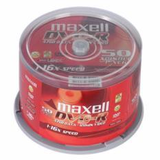 Lốc 50 đĩa DVD Maxell – Hàng nhập khẩu cao cấp không kén máy + Tặng 01 tai nghe Q50