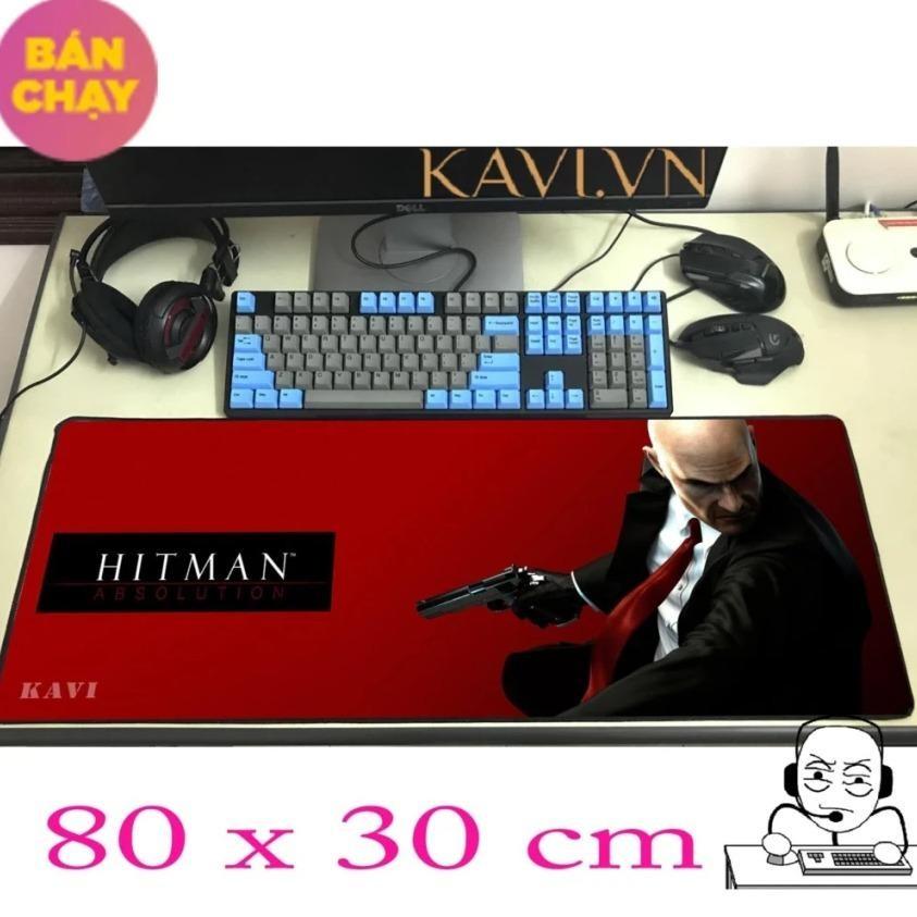 Lót chuột Kavi 80x30, Bàn di chuột Songoku, Dota2, Hitman, Overwatch