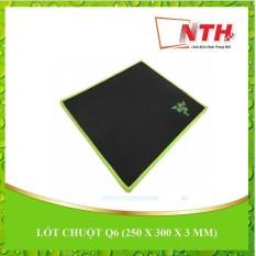 Lót chuột Q6 ( 250 X 300 X 3 MM )