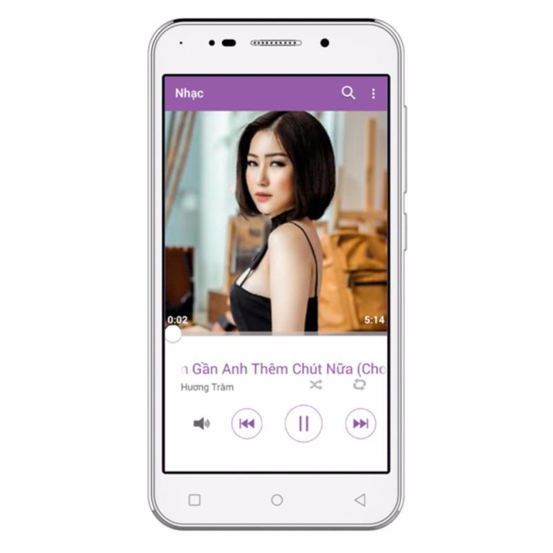 LV Mobile LV37 - 4GB 2 SIM (Trắng)