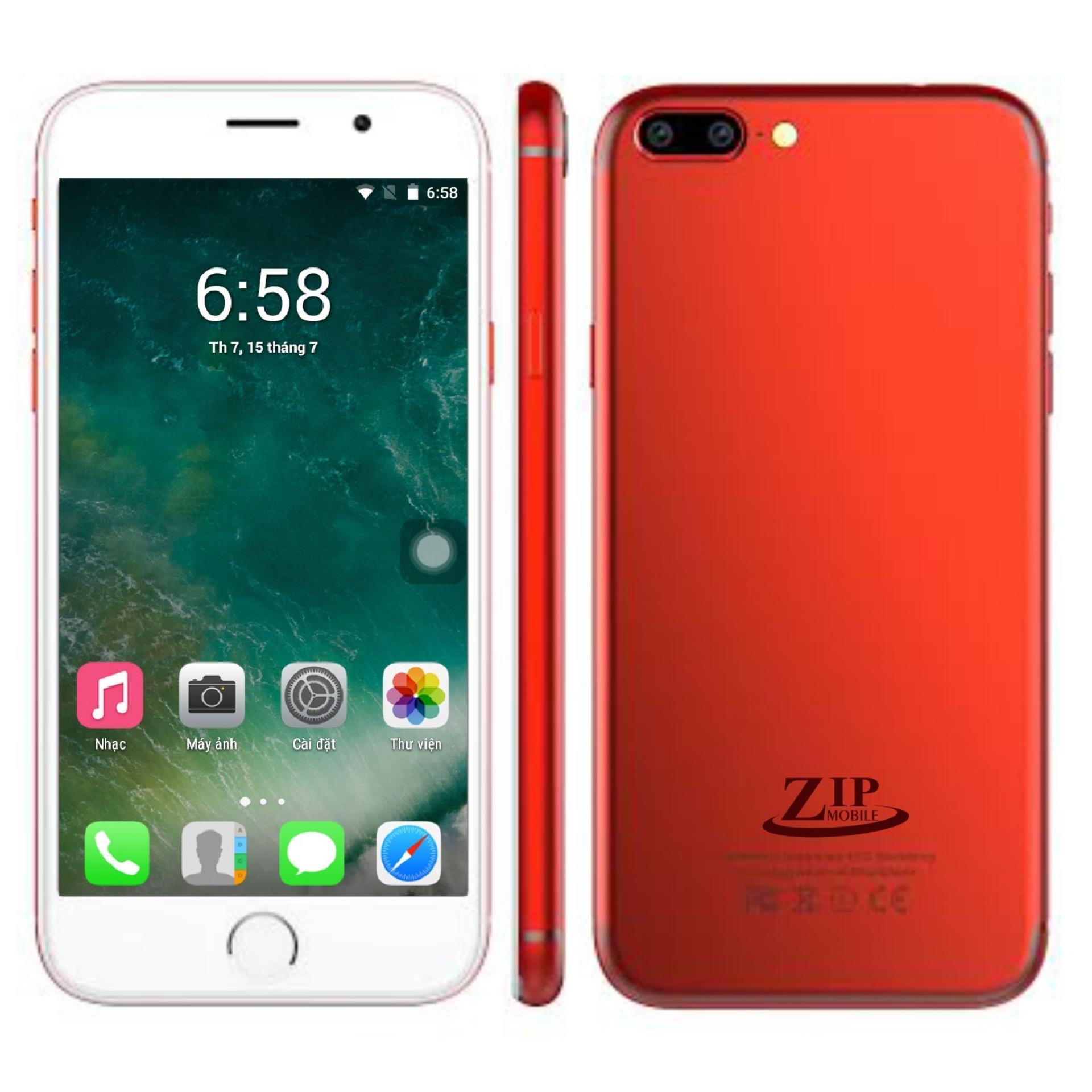 LVmobile ZIP8 . 2 SIM . Ram:1/Rom:4Gb – Tặng Ốp Dẻo . Hàng Nhập Khẩu