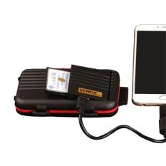 MagiDeal Chống Nước 2 in1 Đầu Đọc Thẻ Nhớ và dành cho CF SD TF Điện Thoại Thông Minh Máy Tính-quốc tế