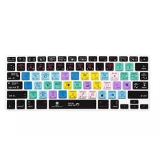 """Makiyo cho MacBook Air 13 """"và"""" Pro 13 """"15"""" 17 """"Họa Sĩ Minh Họa AI Tiếng Anh Các Phím Tắt Phím Nóng bàn phím Bao Da Bảo Vệ-quốc tế"""