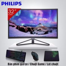 Màn hình vi tính Cong Cao Cấp 32inch Philips 328C7Q đẳng cấp game thủ + Quà Tặng