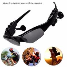 Mắt kính Bluetooth Sport Vision V4.1 (Đen) – Kmart