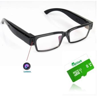 Mắt Kính Camera Mini Thông Minh + Tặng Kèm Thẻ Nhớ 8GB
