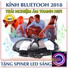 Mắt kính thông minh kết hợp tai nghe Bluetooth + Tặng free spiner led sáng