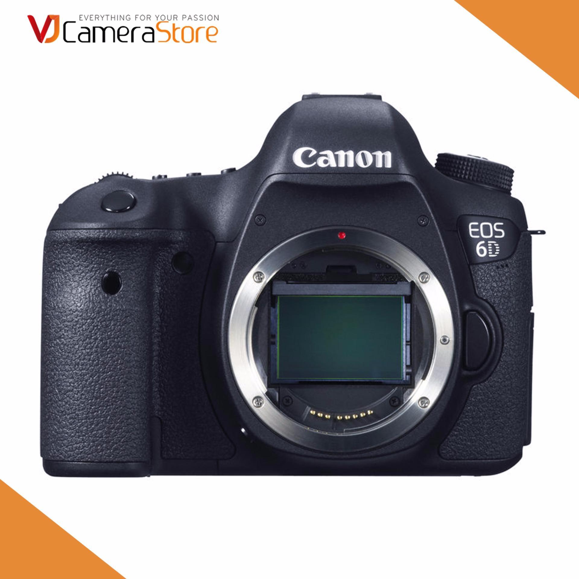 Máy ảnh Canon EOS 6D (body) – Hàng nhập khẩu