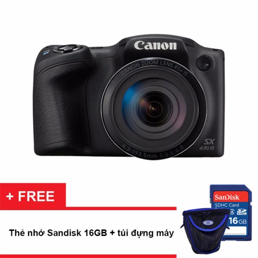 Đánh giá Máy ảnh Canon PowerShot SX430 IS 20MP và Zoom quang 45x (Đen)  Tại NGỌC CAMERA (Tp.HCM)