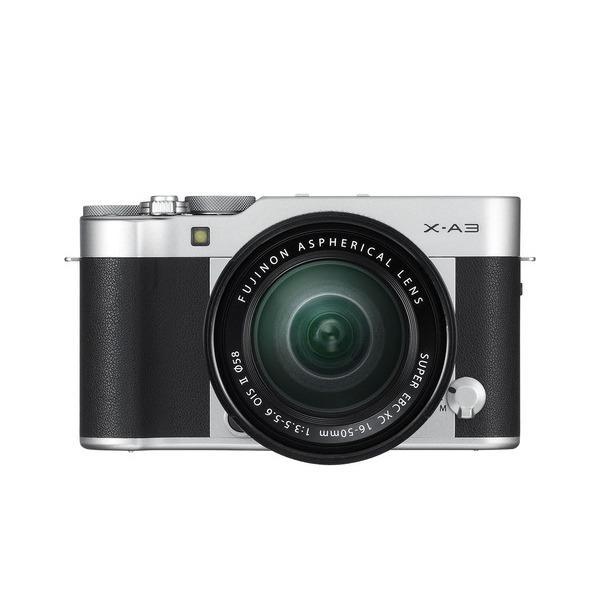 Máy ảnh Fuji XA-3 (Bạc )+ lens16-50mm
