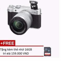 Trang bán Máy ảnh FUJIFILM X-A10 16.3MP với Lens kit XC16-50MM F3.5-5.6 OIS II + Tặng kèm thẻ nhớ 16GB