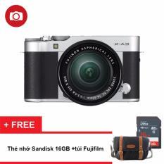 Máy ảnh Fujifilm X-A3 24.2MP Kit XC16-50mm F3.5-5.6 Ois II (Bạc)(Hãng phân phối chính thức) – Tặng thẻ nhớ 16GB, túi đựng máy