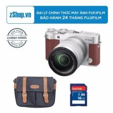Máy ảnh FUJIFILM X-A3 KIT XC16-50 F3.5-5.6 OIS II (Nâu) + Tặng Túi Fujifilm cao cấp + Thẻ nhớ 16GB