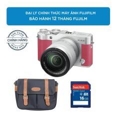 Máy ảnh FUJIFILM X-A3 KIT XC16-50MM F3.5-5.6 OIS II (Hồng) Chính hãng + Tặng Túi Fujifilm cao cấp + Thẻ nhớ 16GB