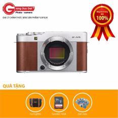 Nơi Bán Máy ảnh Fujifilm X-A5 Body (Nâu) – Tặng Thẻ 16GB + Túi Fujifilm + Dán màn hình – Hãng phân phối chính thức