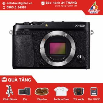 Máy ảnh Fujifilm X-E3 body (Đen) - Hãng Phân Phối Chính Thức
