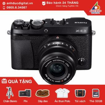 Máy ảnh Fujifilm X-E3 lens 23mm F2 (Đen) - Hãng Phân Phối Chính Thức