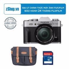 Máy ảnh Fujifilm X-T20 24.3MP với lens kit 16-50mm (Bạc) – Chính hãng + Tặng Túi Fujifilm cao cấp + Thẻ nhớ 8GB