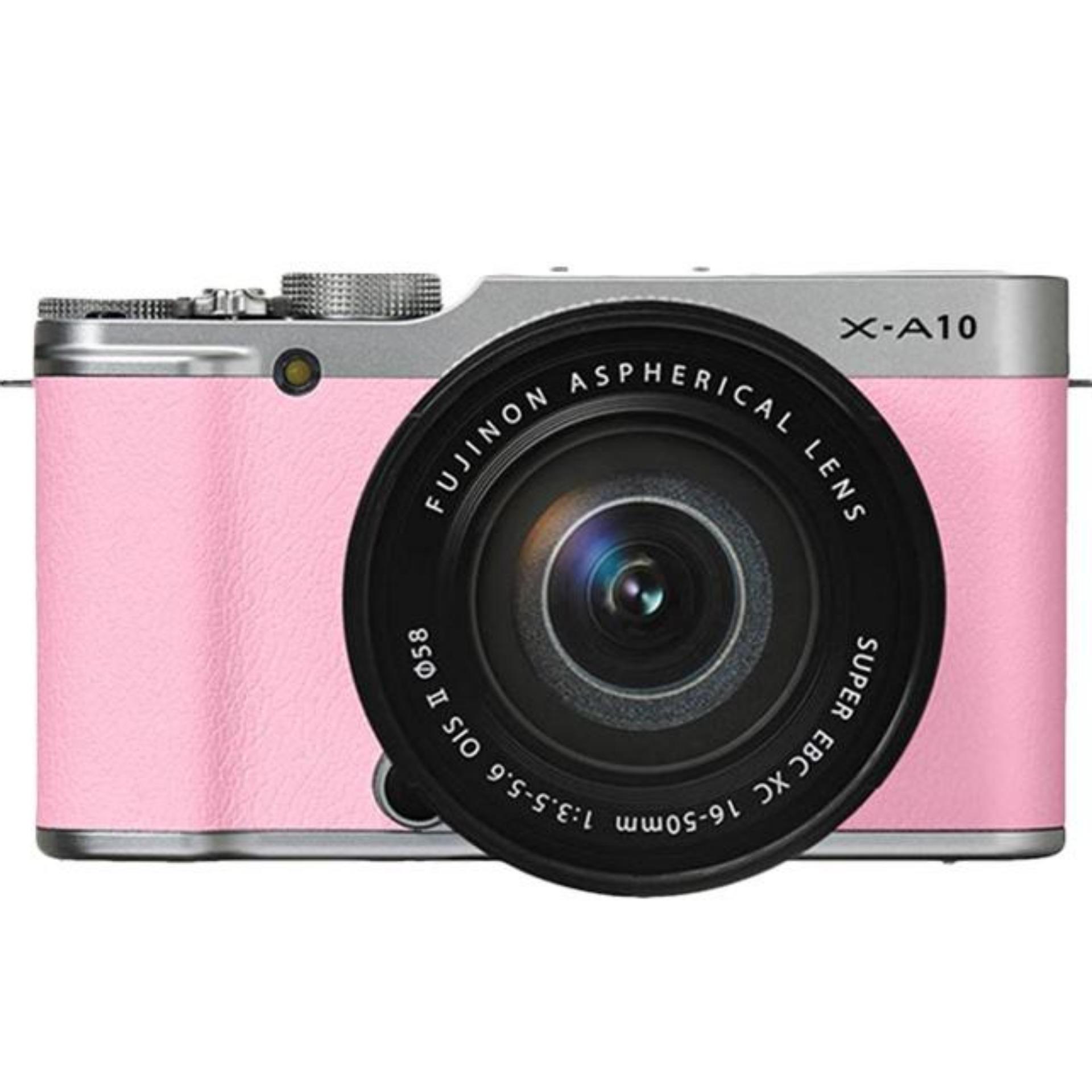 Máy ảnh Fujiflm X-A10 Kit 16-50mm F/3.5-5.6 OIS II - Pink - Hàng chính hãng