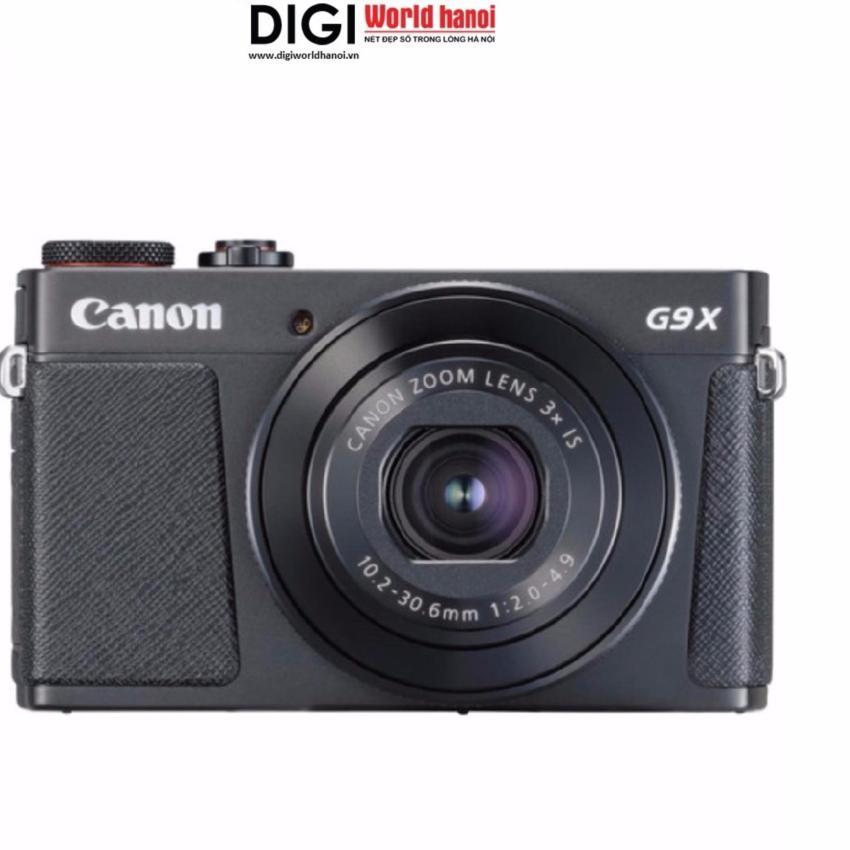 Máy ảnh KTS Canon G9X mark II 20.2MP và Zoom quang 3x (Đen) – Hãng phân phối chính thức Đang Bán Tại Digiworld HN