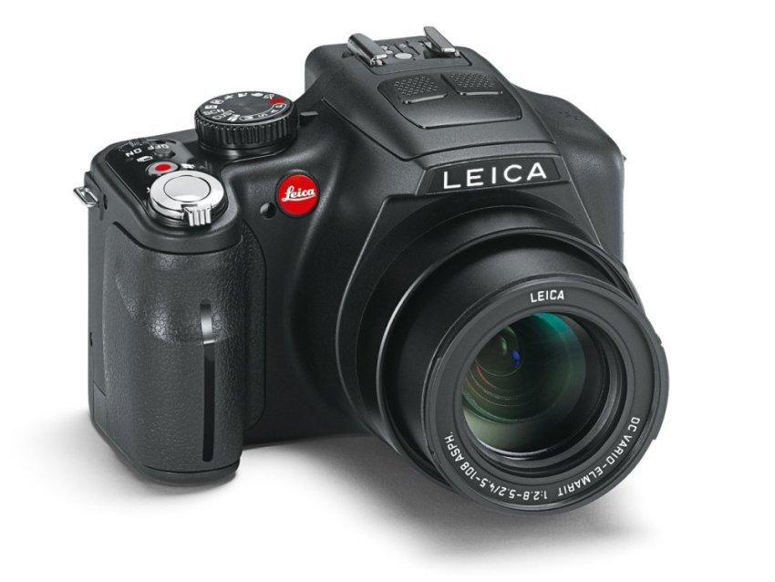 Máy ảnh KTS Leica V Lex 3 12.1MP và Zoom quang 24x (Đen)