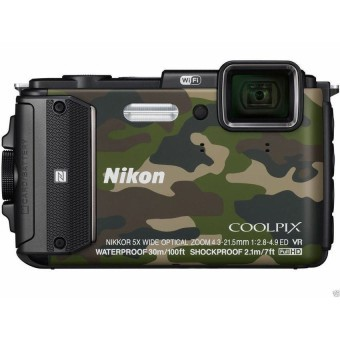 Máy ảnh KTS NIKON COOLPIX AW13016MP và Zoom quang 5x (Vàng)
