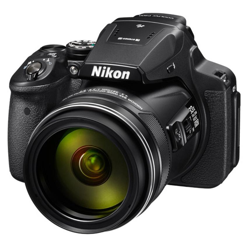 Máy ảnh KTS Nikon Coolpix P900 16MP & Zoom quang 83x (Đen)