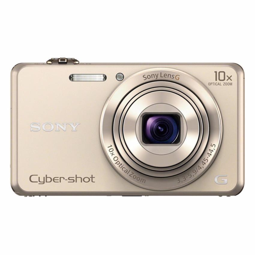 Mua Máy ảnh KTS Sony Cyber-shot DSC-WX220 18.2MP và Zoom quang 10x + thẻ nhớ 16GB + bao đựng máy Tại Digiworld HN