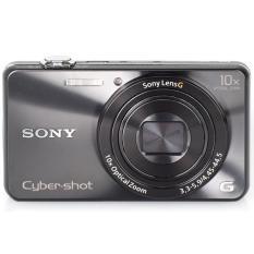 Máy ảnh KTS Sony Cyber-shot DSC-WX220 18.2 MP và Zoom quang 10x (Đen).