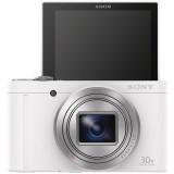 Máy ảnh KTS Sony Cyber-shot DSC-WX500 18.2MP và Zoom quang 30x (Trắng)