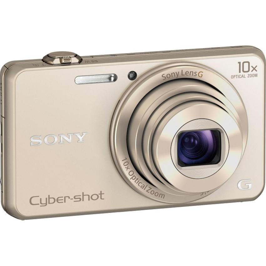 Nên mua Máy Ảnh Kts Sony Cybershot Dsc-Wx220 18.2Mp, Zoom Quang 10X (Gold) (Tặng thẻ nhớ SD 16GB, bao đựng máy) ở NGỌC CAMERA (Tp.HCM)
