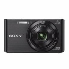 Máy ảnh KTS Sony DSC-W830/BC 20.1MP và Zoom quang 8x (Đen)
