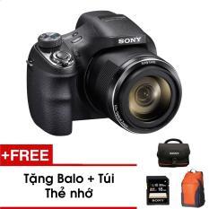 Máy ảnh KTS Sony DSC-H400 20.1MP và zoom quang 63x (Đen) – Tặng thẻ nhớ – Túi – Balo du lịch Sony – Hàng phân phối chính hãng