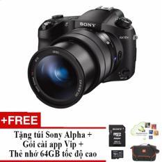 Giá Máy ảnh KTS Sony Rx10 mark III 20.1MP và zoom quang 25x (Đen) + Tặng 1 thẻ nhớ 64G 4K – 94mb/s Sony +1 túi Sony Alpha và 1 gói cài App VIP