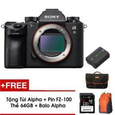 Máy ảnh Mirrorless Full-Frame Sony A9 (Body) – Tặng Pin FZ-100 + Thẻ 64GB + Túi + Balo – Hàng phân phối chính hãng