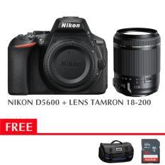 MÁY ẢNH NIKON D5600 và Lens TAMRON 18-200 mm VC