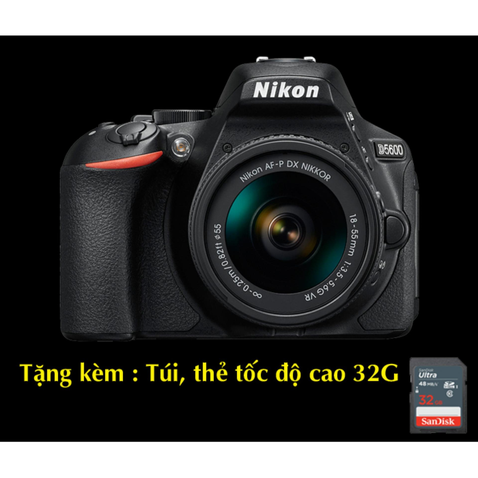 Chi tiết sản phẩm MÁY ẢNH NIKON D5600 và Lens VR 18-55mm
