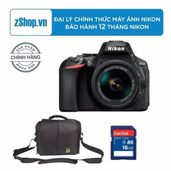 Máy ảnh Nikon D5600 với Lens Kit AF-P 18-55mm VR(Đen) - Chính hãng + Tặng Túi Nikon + Thẻ nhớ...