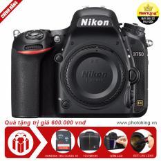 Máy ảnh Nikon D750 Body (Đen) + Tặng thẻ nhớ 16GB + 01 Túi Nikon + 01 Miếng dán màn hình + 01 Bút lau lens