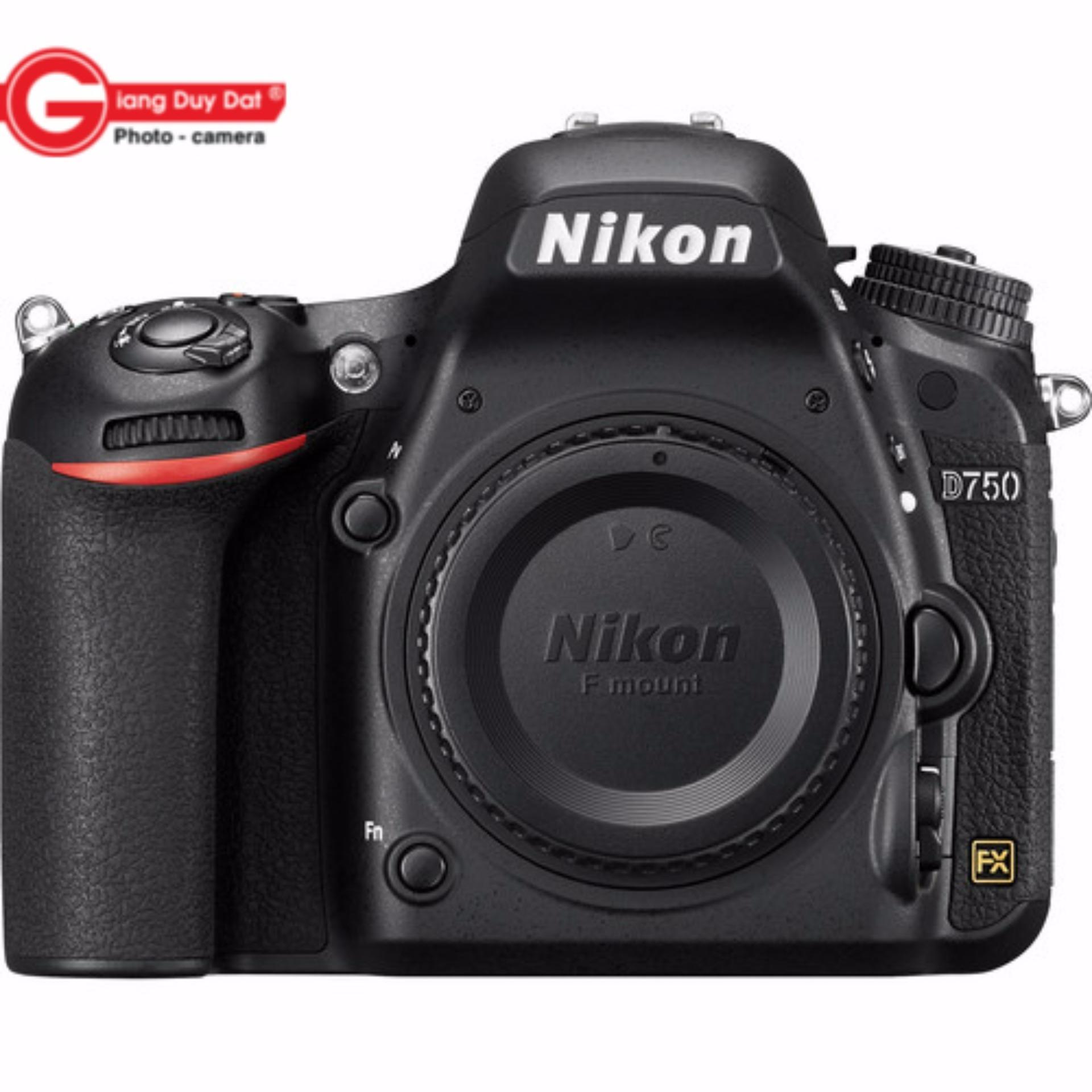 Máy Ảnh Nikon D750 Body – Hãng phân phối chính thức + Tặng Thẻ 16Gb + Túi Nikon + Dán màn hình