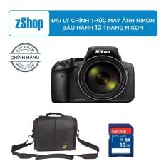 Máy ảnh siêu zoom Nikon COOLPIX P900 16MP và Zoom quang học 83x – Chính hãng + TẶNG Túi Nikon + Thẻ 16GB