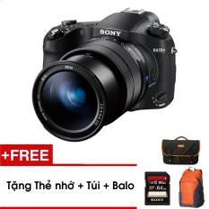 Máy ảnh siêu zoom Sony RX10 Mark IV – Tặng thẻ nhớ + Túi + Balo – Hàng phân phối chính hãng